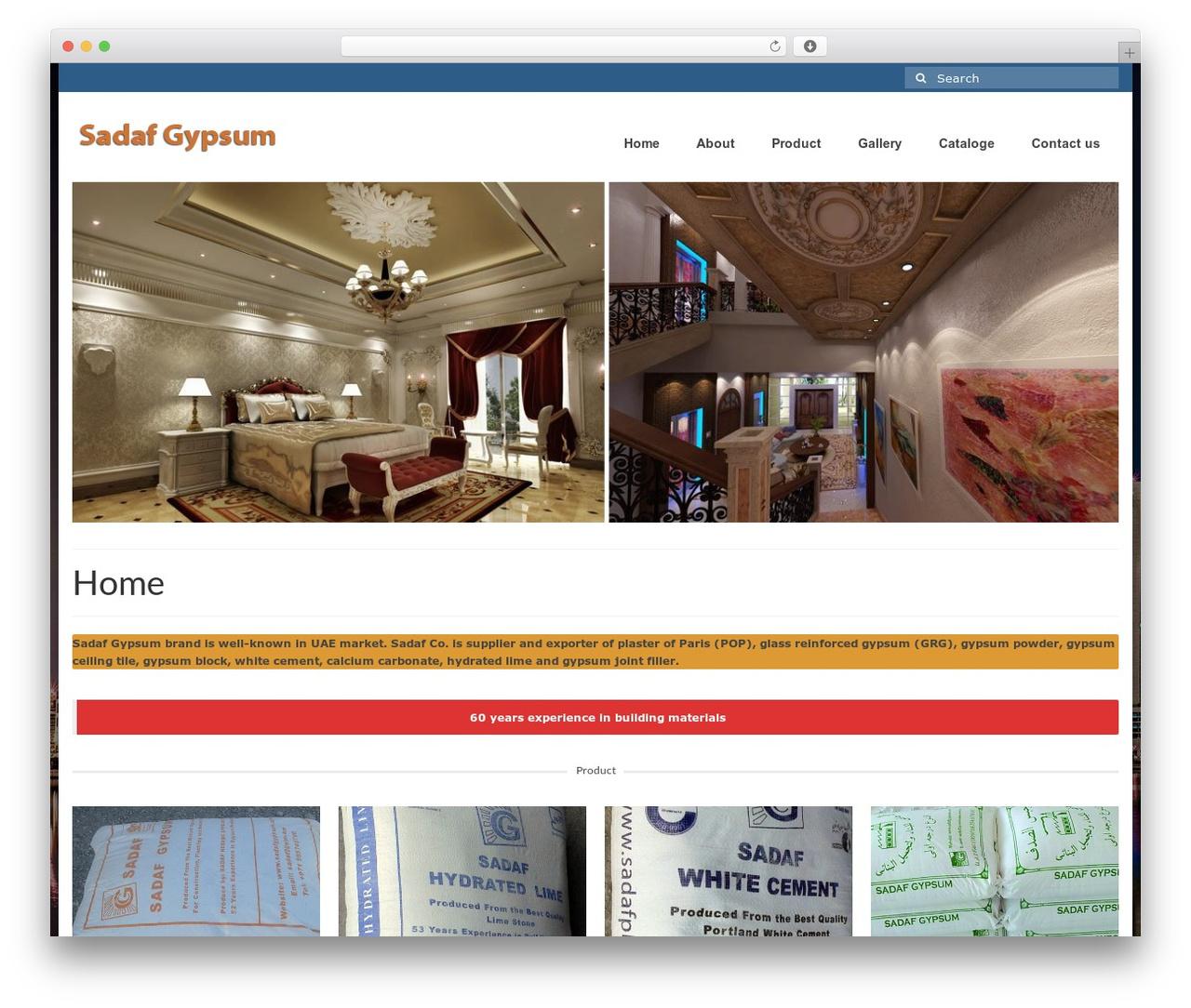 WordPress theme Virtue - gypsumexporter.com