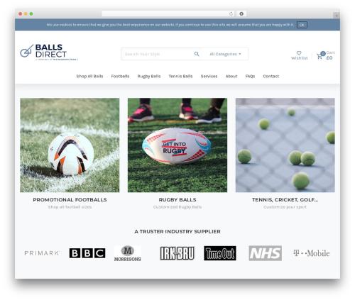 June WordPress page template - ballsdirect.co.uk