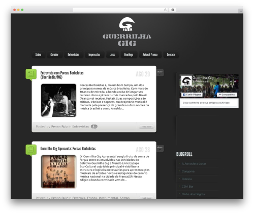 WordPress theme LightBright Child - blog.guerrilhagig.com