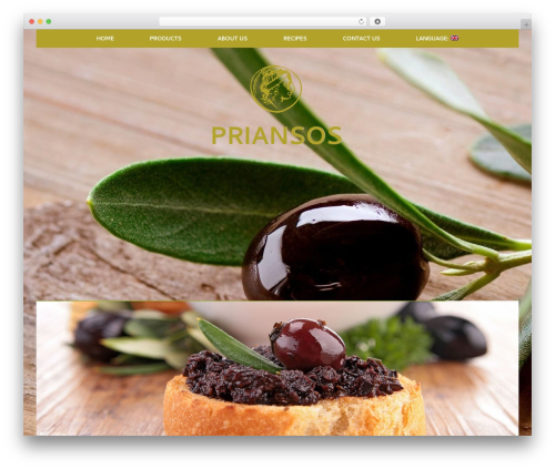 WP theme Healthy Farm - priansos.com