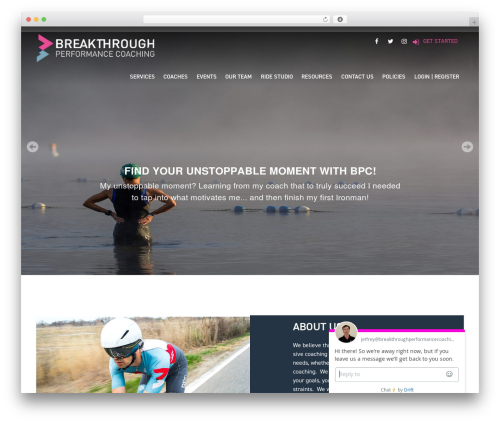 Bones (Rename Me!) WordPress theme - breakthroughperformancecoaching.com