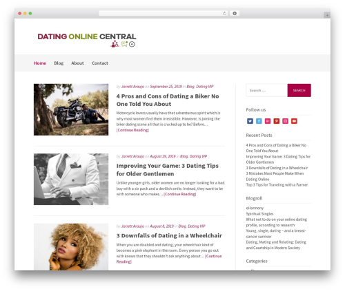 Gatsby WordPress theme download - dating-online-central.com