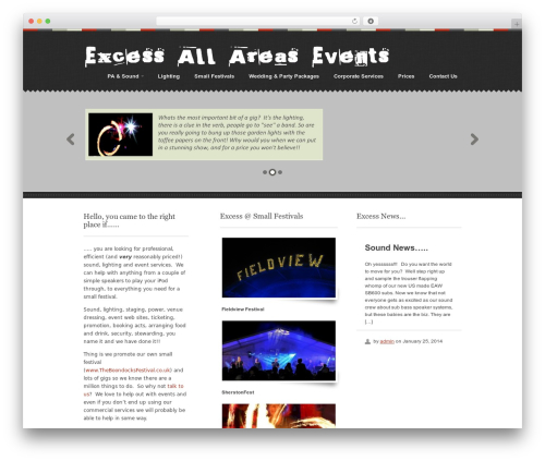 Swatch WP template - excessallareasevents.com
