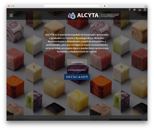 Template WordPress ResponsiveBoat - alcyta.com