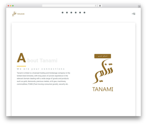 Best WordPress theme G5Plus Orion - tanamico.com