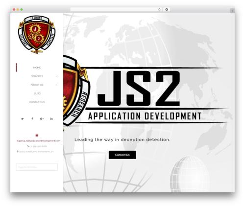 Creativo Theme premium WordPress theme - js2applicationdevelopment.com