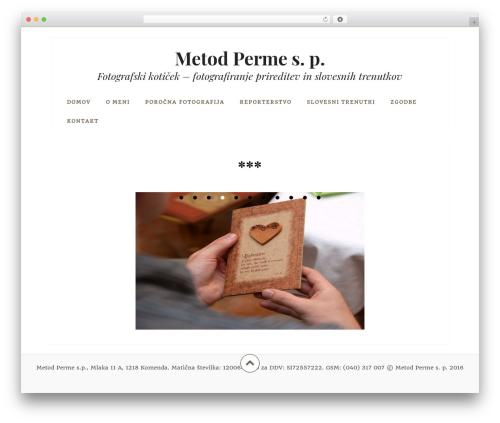 Datar free website theme - metodperme.com