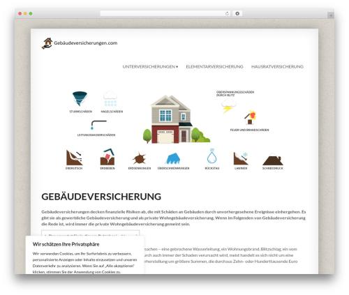 Smartbox WP theme - gebaeudeversicherungen.com
