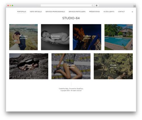 WordPress template Pinhole - studio-64.com