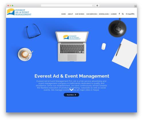 WP theme Nelva - everestadevent.com