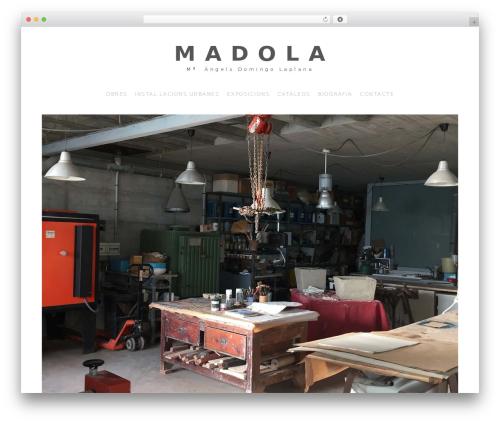 Adorn Theme theme WordPress - madola.com