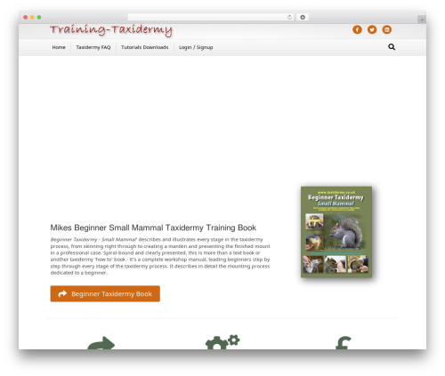 Free WordPress Spider FAQ plugin - training.taxidermy.co.uk