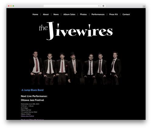 Best WordPress template Carta - thejivewires.com