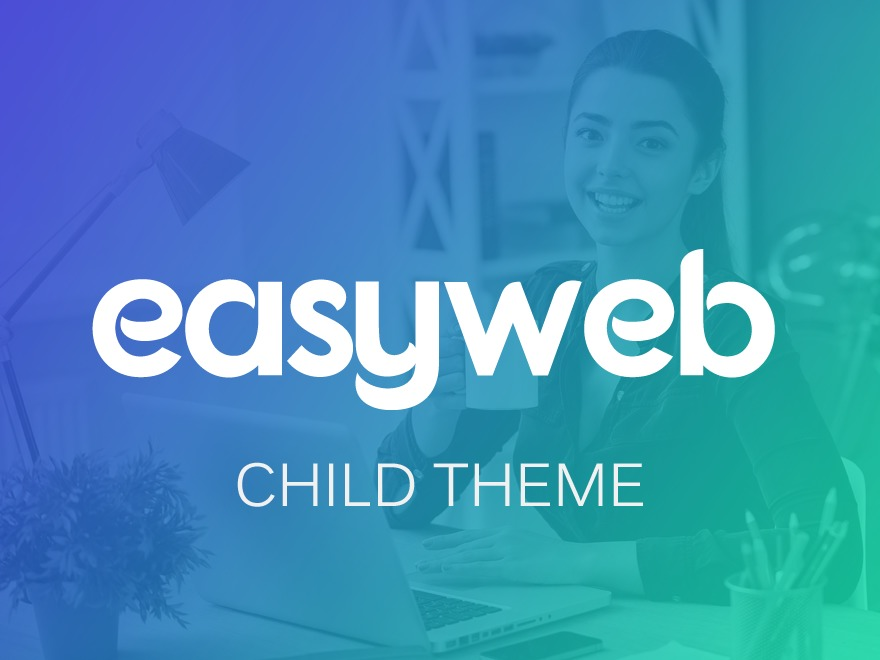 Best WordPress template Easyweb Child