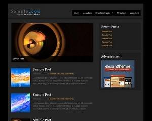 Best WordPress theme Basico Dark WordPress Theme