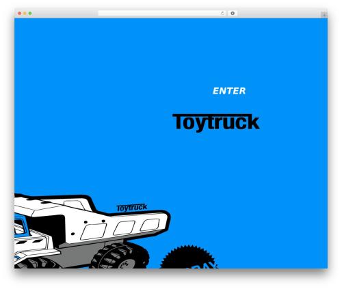 Carrington Text top WordPress theme - toytrucksurfboards.com