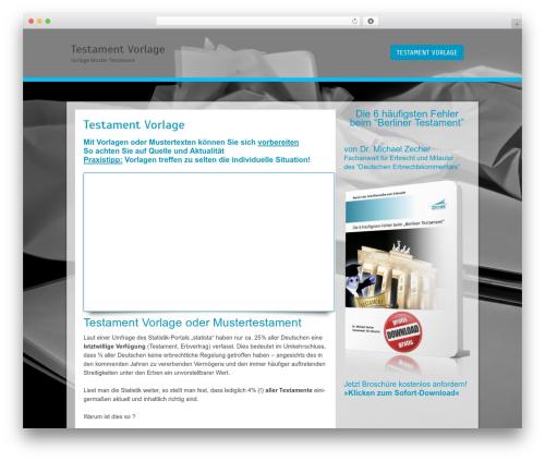 Cell template WordPress free - testament-vorlage.info