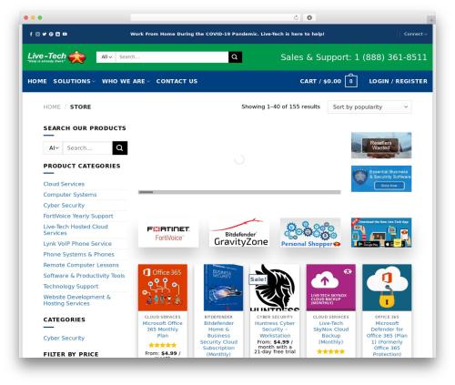 WordPress woocommerce-brands plugin - mylive-tech.com/store