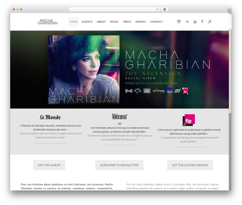FWRD top WordPress theme - machagharibian.com
