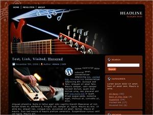Guitar G1 best WordPress theme
