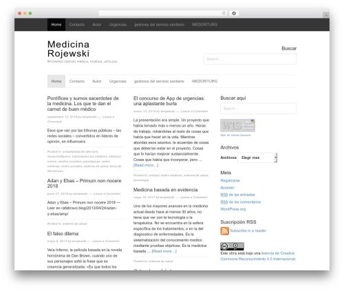 Magazine WP template - medicinabyrojewski.allaca.org