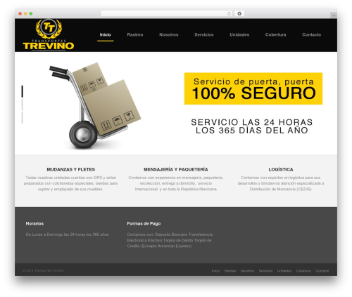 Sensica WP template - transportestrevino.com