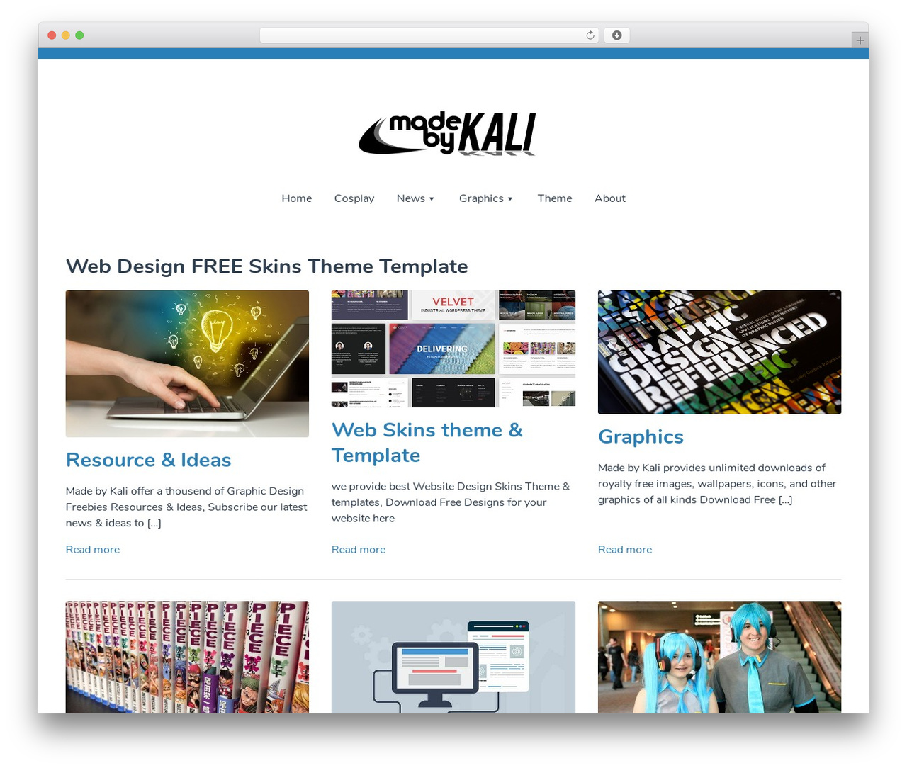 Singularity best WordPress theme - made-by-kali.com