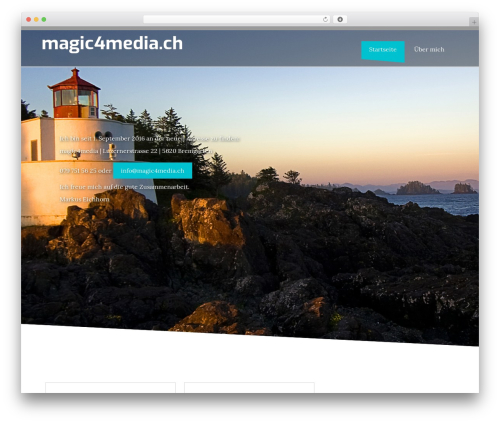 StrongHold template WordPress free - magic4media.ch