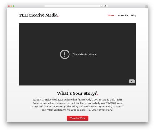 Template WordPress Deck - tbhcreativemedia.com