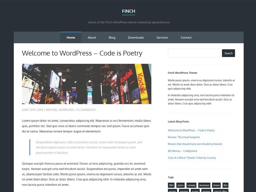 Template WordPress Gift Card Responsive