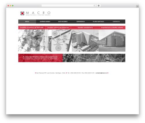 Theme WordPress Delegate - macro.cl