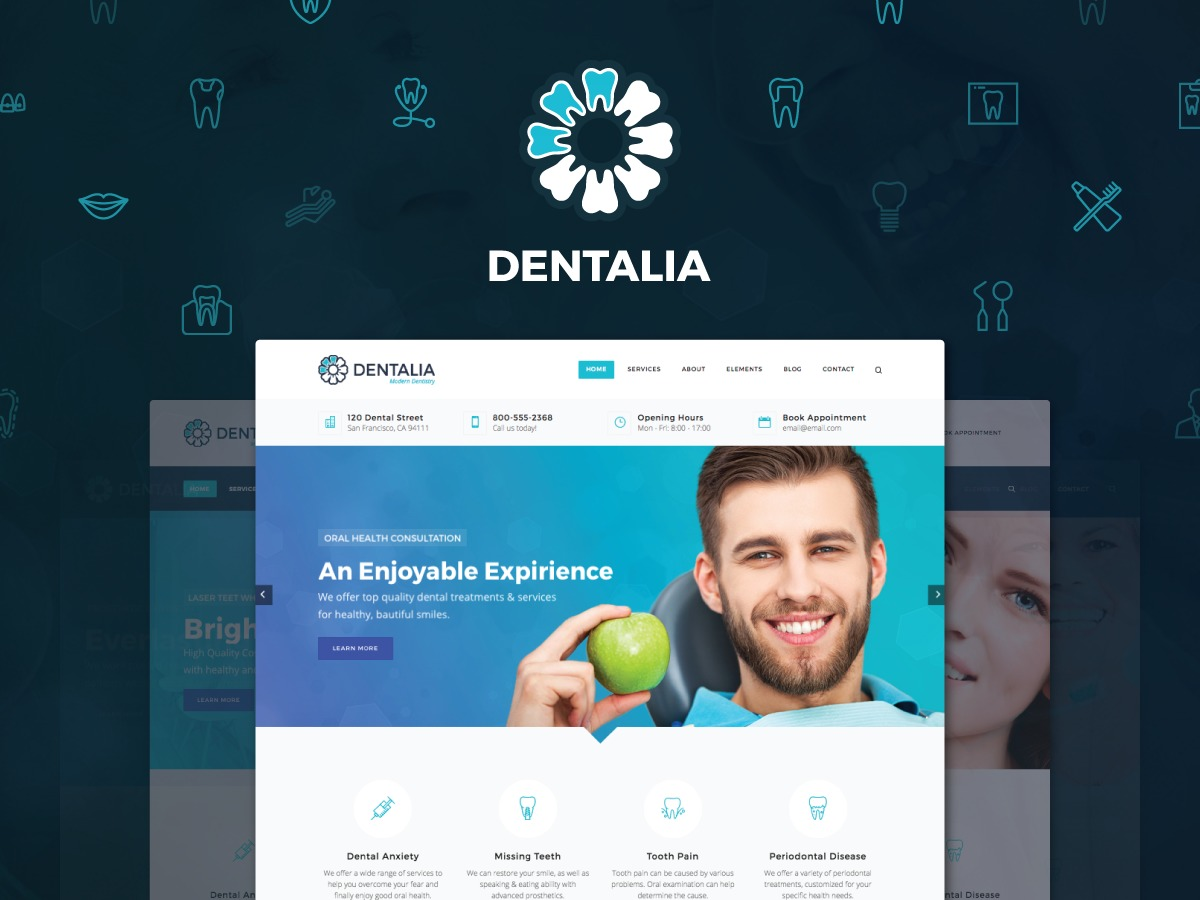 Theme WordPress Dentalia child theme