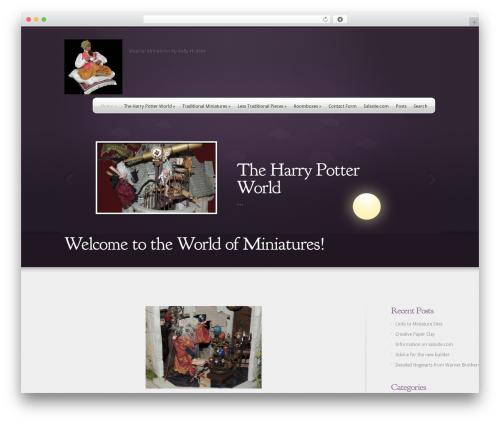 WP template Webly - magicalminiatures.net