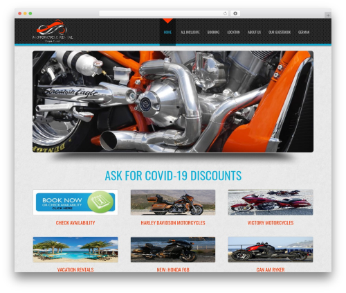 D5 Business Line Extend company WordPress theme - capecoralmotorcyclerental.com