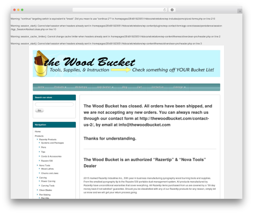 Free WordPress ECT Sitemap plugin - thewoodbucket.com