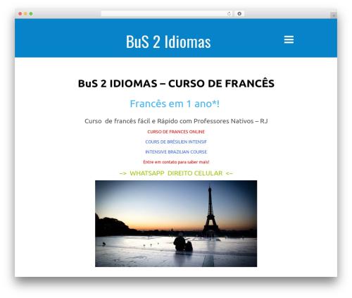 Kichu WordPress theme free download - bus2production.com.br