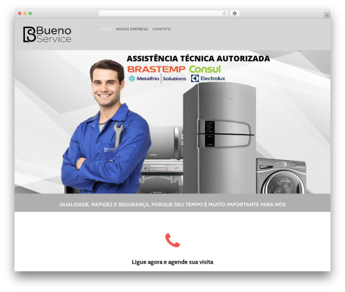 Konsulting WordPress template - buenoservice.com.br
