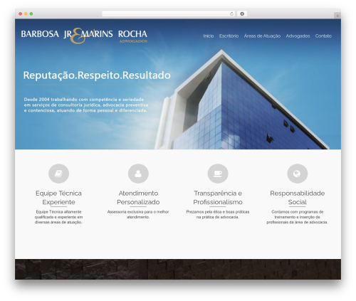 Pinnacle free website theme - bjmr.com.br