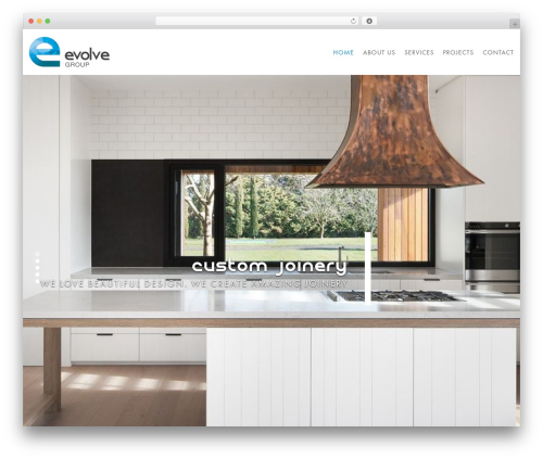 Domik WordPress theme - evolveinteriors.net.au