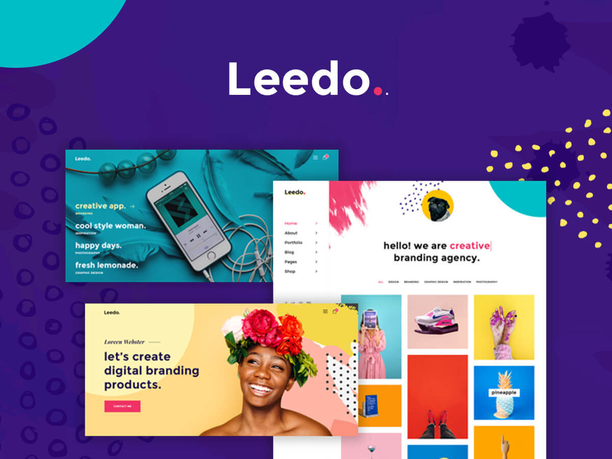 Leedo WordPress theme