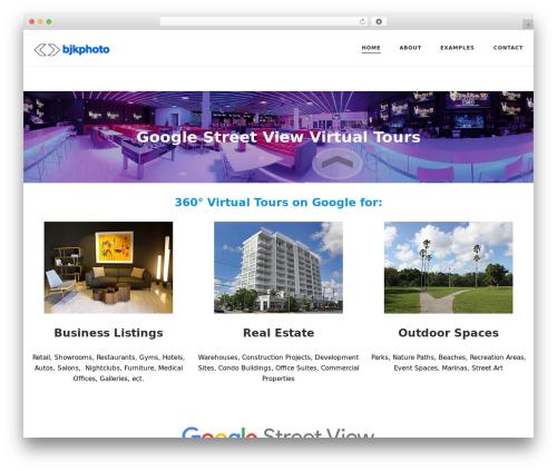 SiteOrigin Corp WordPress template for business - bjkphoto.com