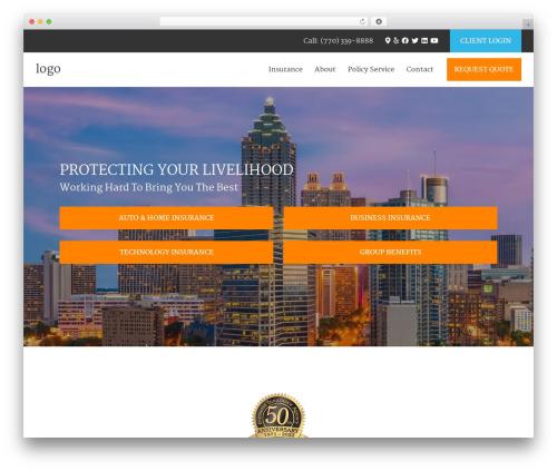 Theme WordPress BrightFire Stellar - burnetteinsurance.com