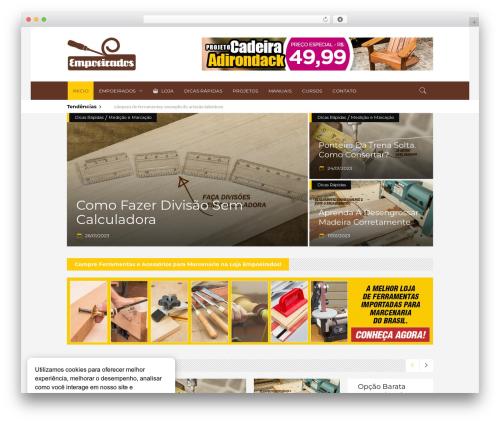 Discussion premium WordPress theme - empoeirados.com.br