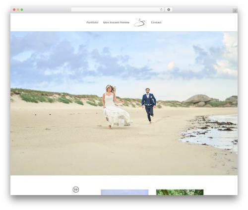 Divi WordPress template for photographers - erwan-cate.com
