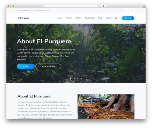 Theme WordPress Corporate Pro - elpurguero.com