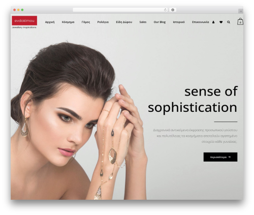 WordPress website template Bazaar - evdokimou.com