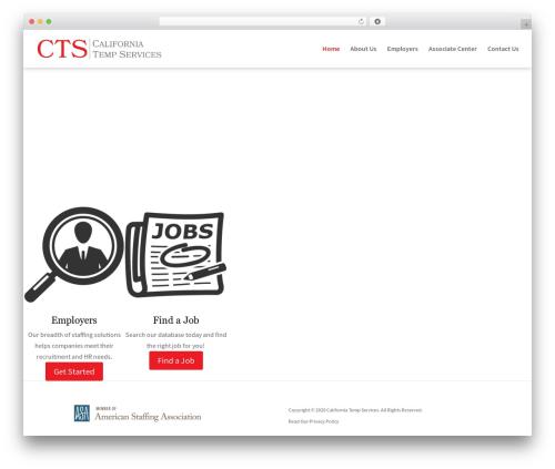 Divi template WordPress - caltemps.com