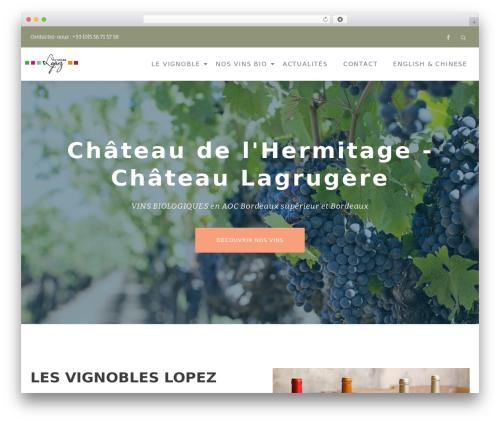 Llorix One Lite WordPress theme download - chateau-hermitage.com