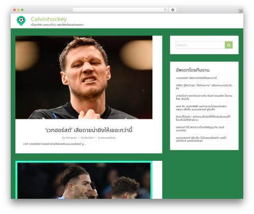 showme WordPress website template - calvinhockey.com