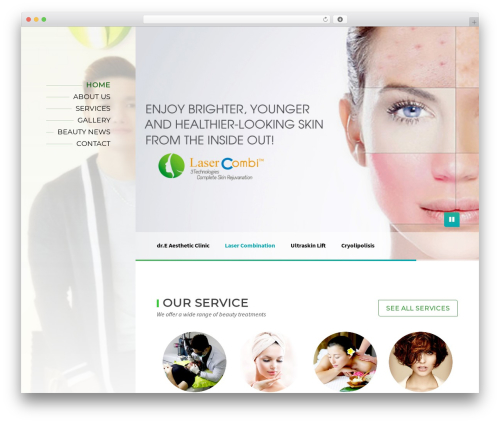 Template WordPress BeautySpot - clinic-dre.com